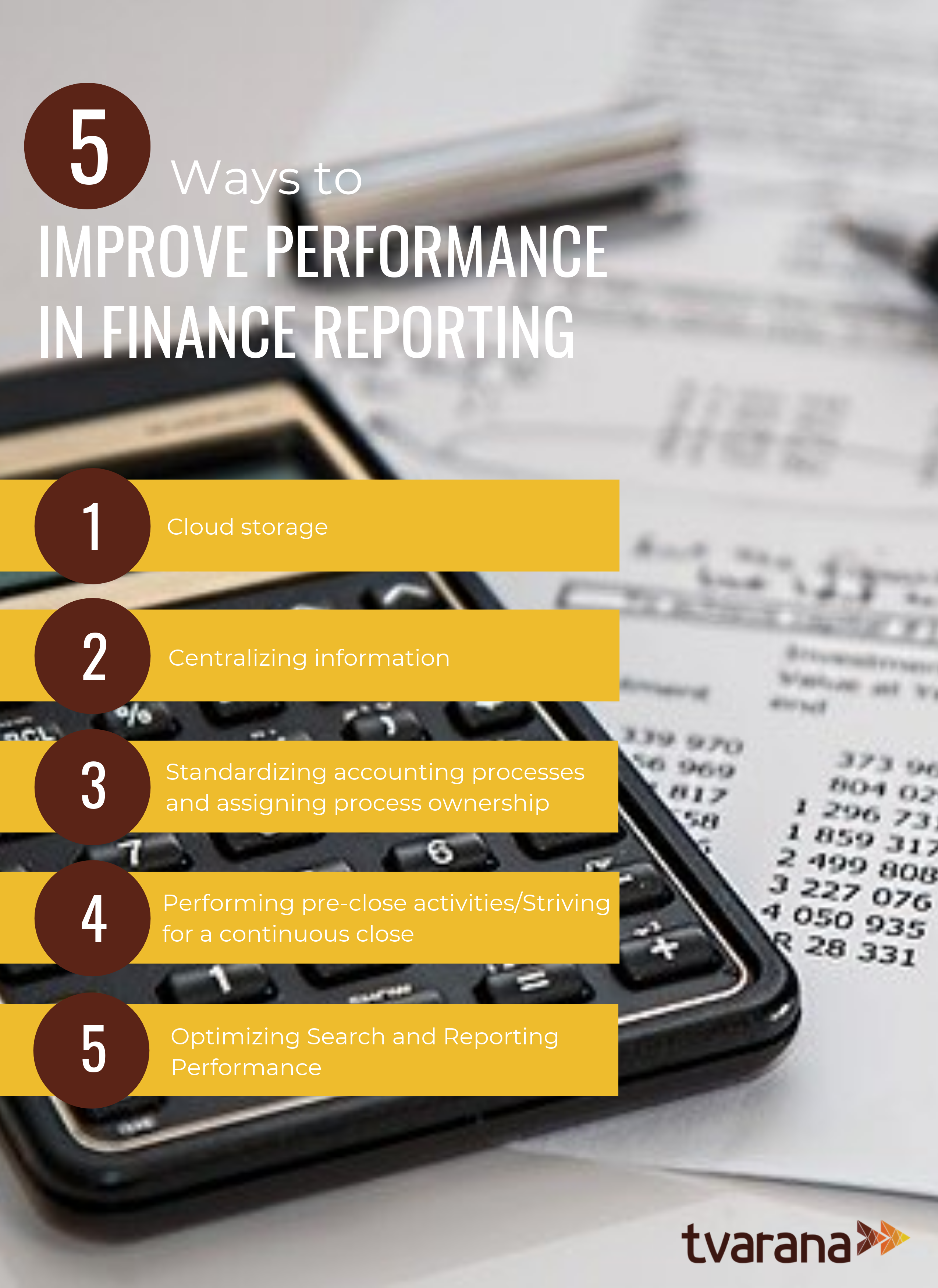 Finance reporting