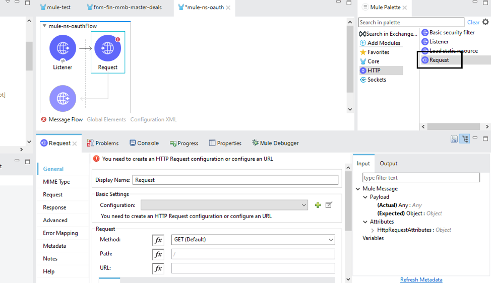 NetSuite OAuth2 Mulesoft Anypoint Studio Integration